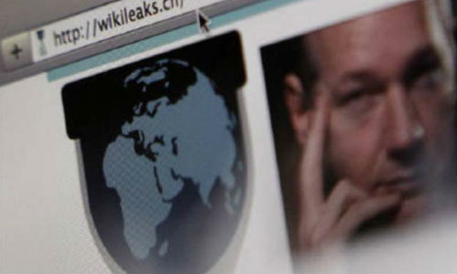 Wikileaks leaks top secret emails