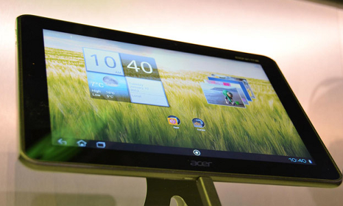 Acer Iconia A510 tablet to launch in March