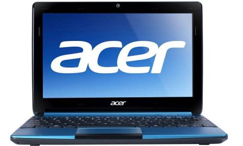 Acer Aspire One D270, an Intel powered mini laptop