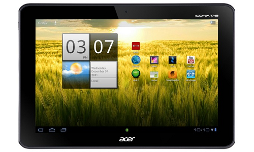 Acer's Iconia Tab A200 Gets OTA update of ICS
