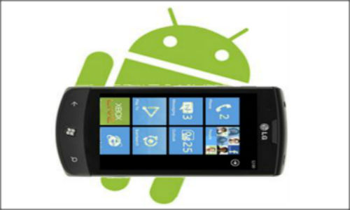 Android Jelly Bean, Windows 8 race