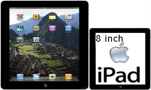 Apple working on smaller 8 inch new iPad