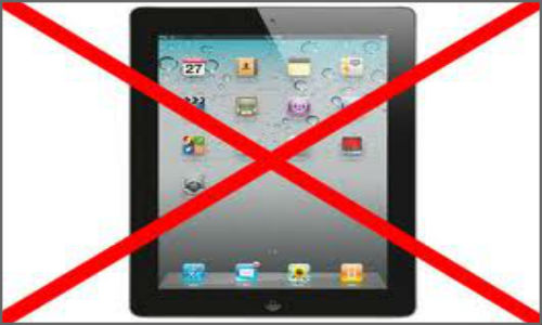 Apple bans iPad sale in China