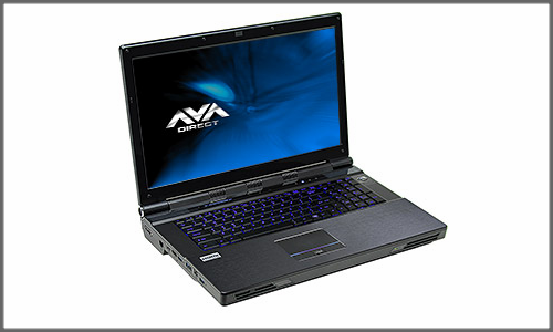 AVADirect's Clevo P270WMs first Sandy Bridge-E notebook