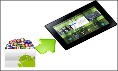 BlackBerry PlayBook 2 accepts Android apps