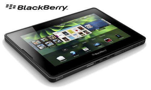 Blackberry Playbook LTE version in April