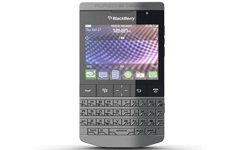 Blackberry Porsche design P9531 out in the market