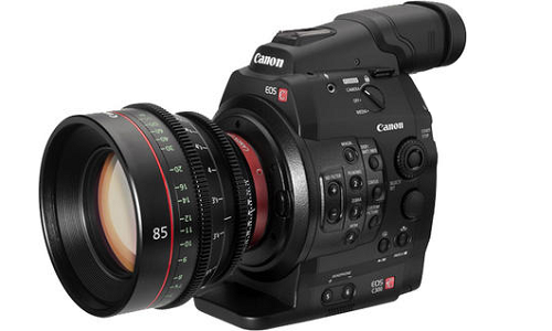 Canon launches C300 new video camera