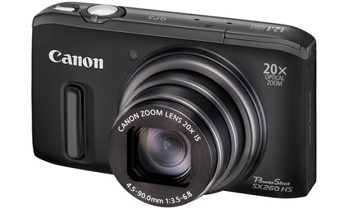 Canon announces new SX260HS a super zoom GPS camera