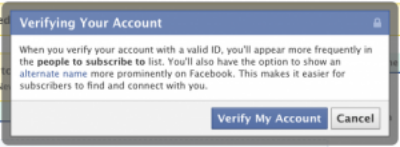 Facebook launches Verified Accounts feature