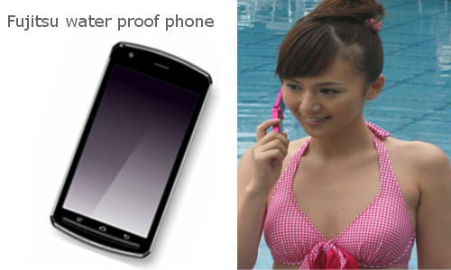 Fujitsu launching water proof phone in MWC 2012