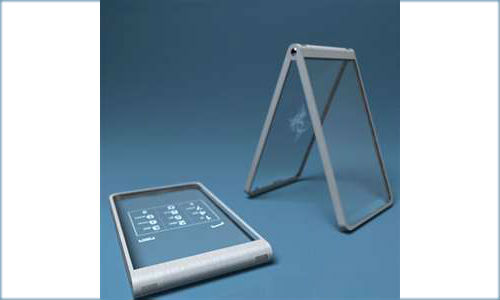 Glass mobile phone concept