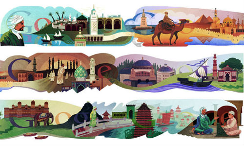 Google doodles the travels of Ibn Battuta