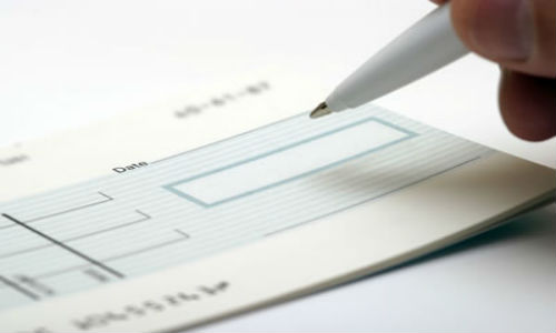 Hi-tech electronic cheque has evolved