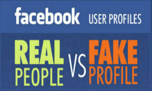 Infographic: Idenfying fake Facebook profiles