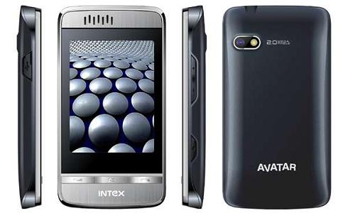 Intex Avatar, a New 3D touch phone