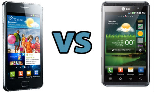 Samrtphone War: LG Optimus Vu Vs Samsung Galaxy Note
