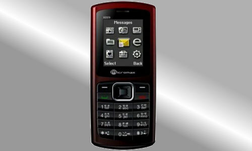Micromax X233, the latest dual SIM GSM phone