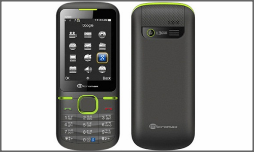 Micromax X288, a cheap dual sim mobile phone