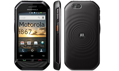 Motorola launches new Android phone: i867