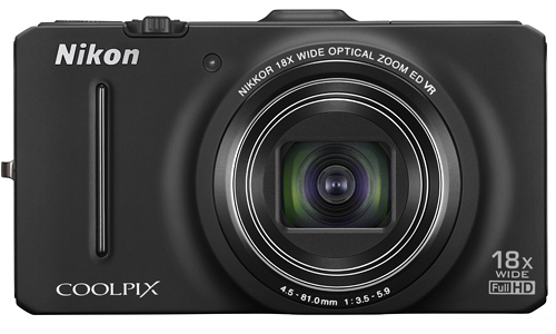 Nikon Coolpix S9300, a compact camera with high zoom feature