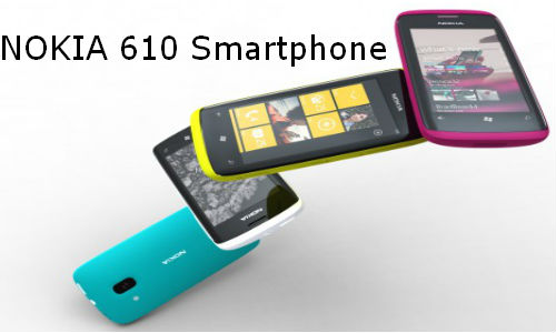 nokia windows phone price. nokia 610 windows phone specs unveiling price