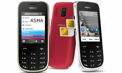 Nokia launches 3 new Asha phones