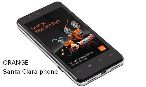 Orange to launches Intel powered Santa Clara smartphone