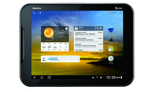 New Pantech Element Tablet specs out