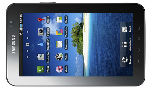 New 7 inch tablet from Samsung in the making