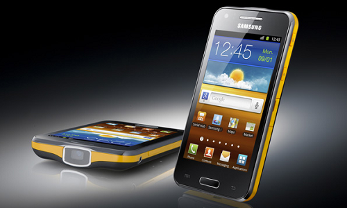 Samsung Galaxy Beam projector phone coming soon