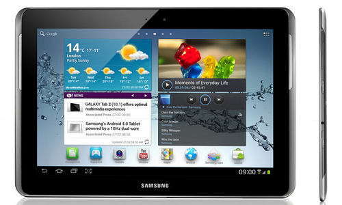 Samsung Galaxy Tab 2, 10.1 inch version officially announced