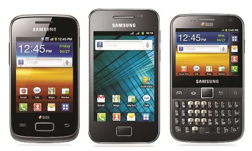 Samsung launches 5 new dual SIM phones in India