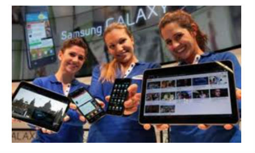 Samsung launches 2 new android 4.0 tablets