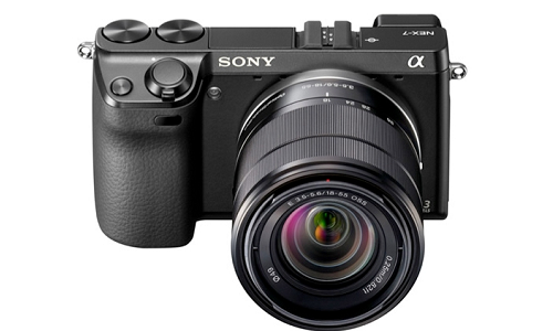 New Sony NEX 7 mirrorless camera