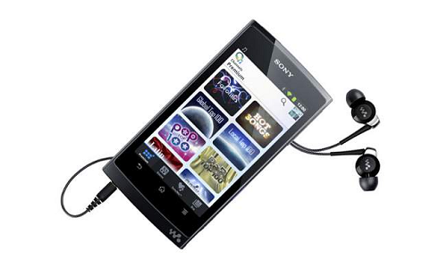 An Android based Walkman NWZ-Z1050 in the market