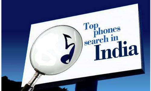 5 most searched mobile phones in India