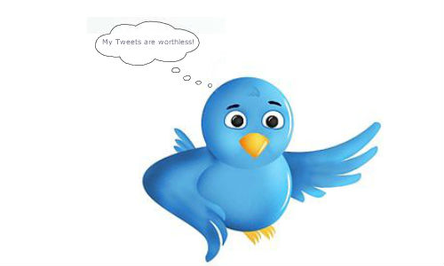 A majority of tweets are worthless says research