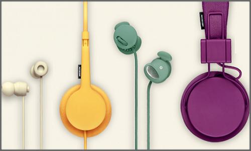 New Urbanears 2012 Spring/Summer dazzling coloured Headphones