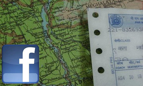 Use Facebook to check train timings and berth status