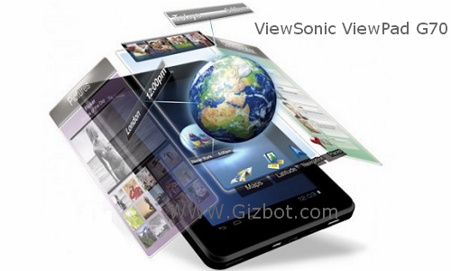 ViewSonic launches new ViewPad G70 in MWC 2012