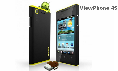 ViewSonic ViewPhone 4S officially launched
