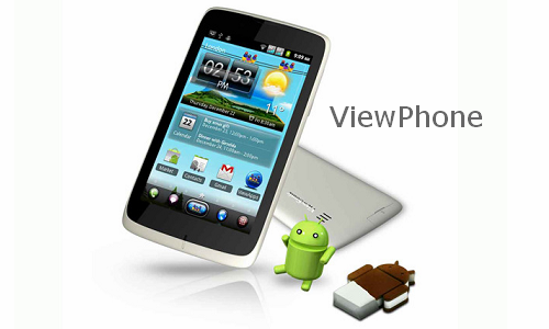 5 inch dual SIM phone from ViewSonic