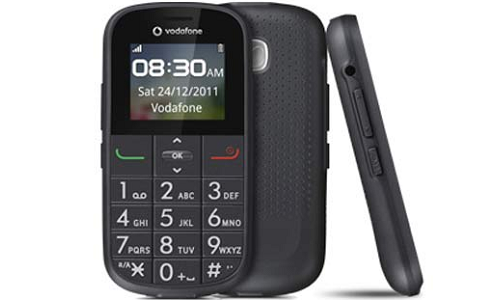 Vodafone 155: An ideal phone for Senior Citizens