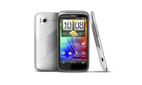 White HTC Sensation launches with Android ICS