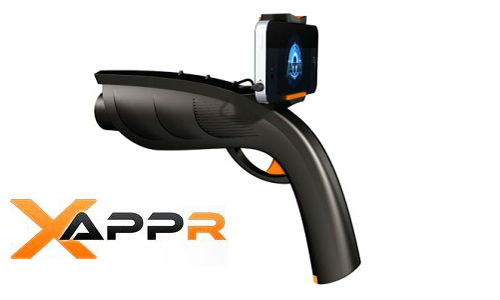 Xappr guns for smartphone gaming