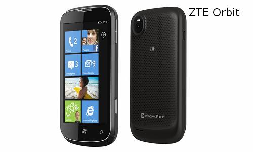 ZTE Windows Tango smartphone, Orbit