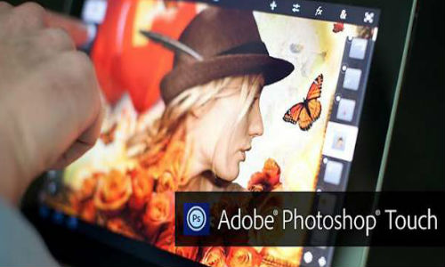 Adobe Photoshop Touch gives you the best multimedia experience