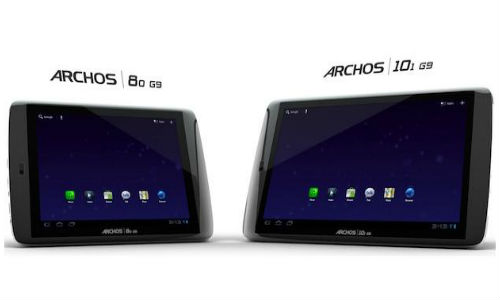 Archos new G9 series tablet