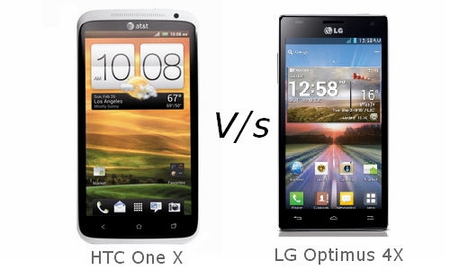 Smartphone War: HTC One X Vs LG Optimus 4X